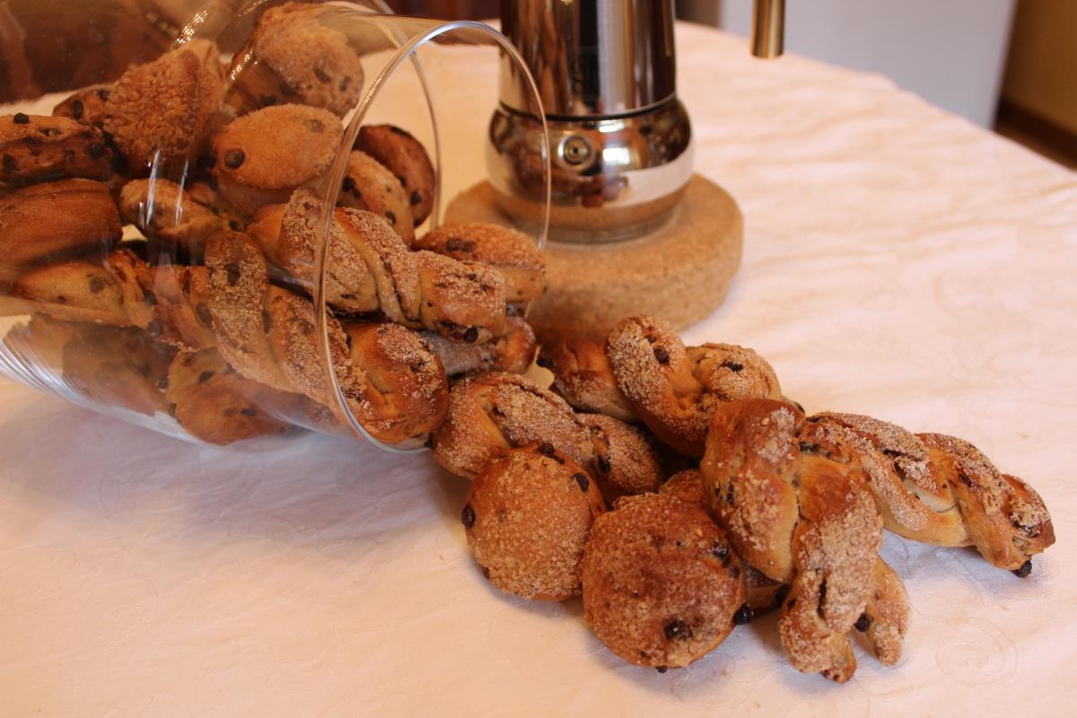 Biscotti croccanti con lievito madre