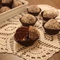 palline di ricotta cioccolato e cocco