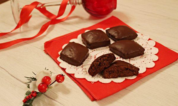 Mostaccioli morbidi al cioccolato