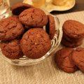 biscottini al cacao e cioccolato bianco