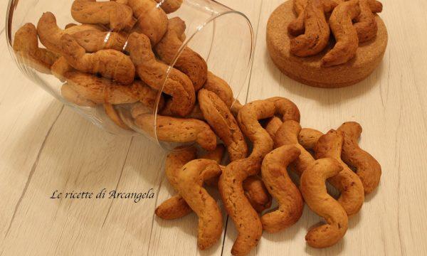 Biscotti con semi di anice ( biscotti della monaca )