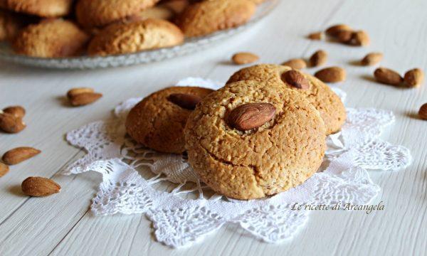 Nzuddi, biscotti catanesi alle mandorle