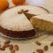 Torta soffice all'arancia e mandorle