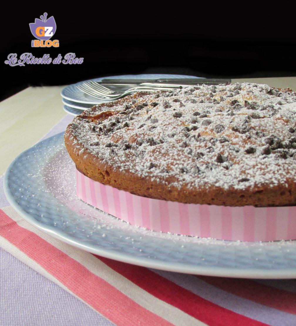 torta ricotta e gocce di cioccolato 3