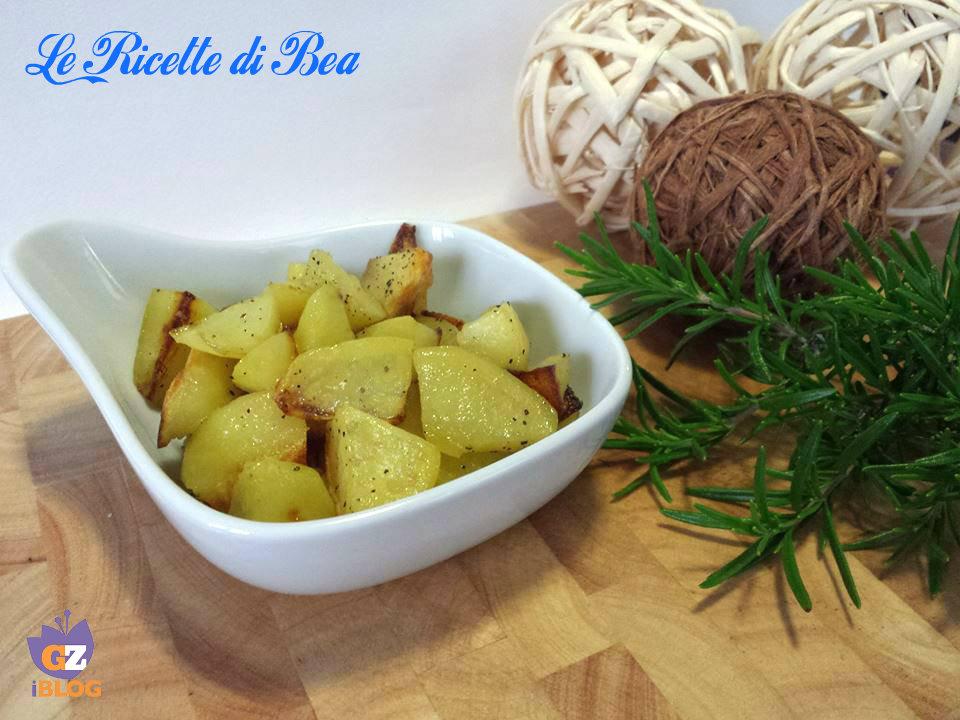 patate con il rosmarino
