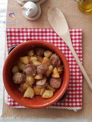 patate con salsiccia al forno infallibile