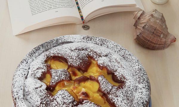 Torta Nua al cacao con crema pasticcera
