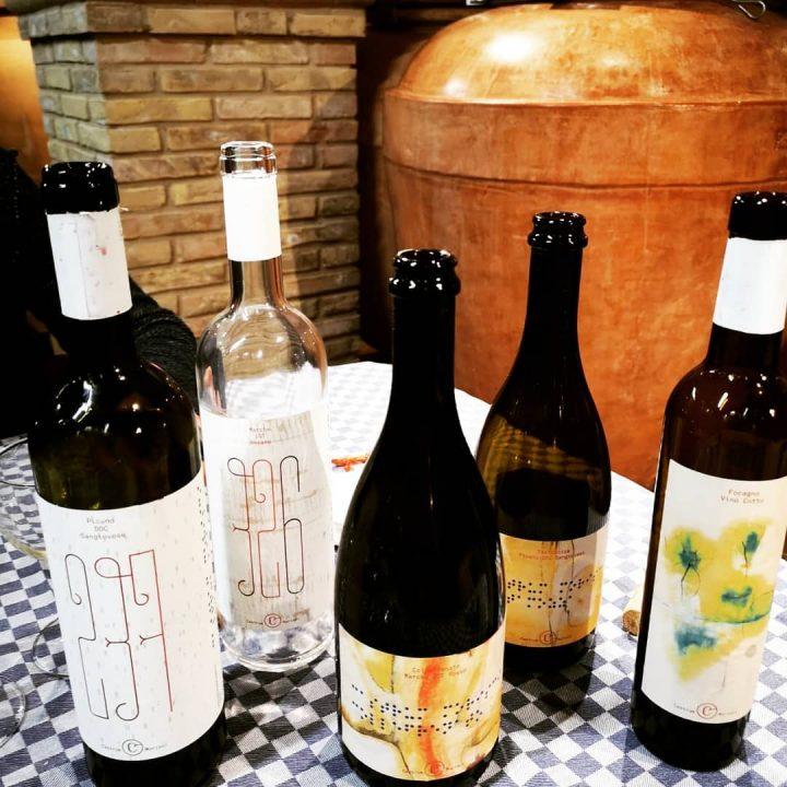 vini ed etichette del brand Castrum Morisci