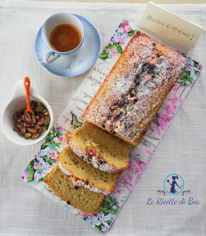 Pistac Cake con farina di riso