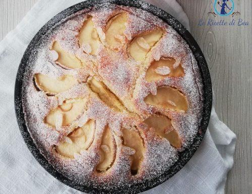 Torta con mele e yogurt senza burro