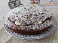 Torta Panna e Nutella
