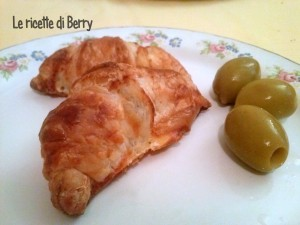 Croissant alle Olive
