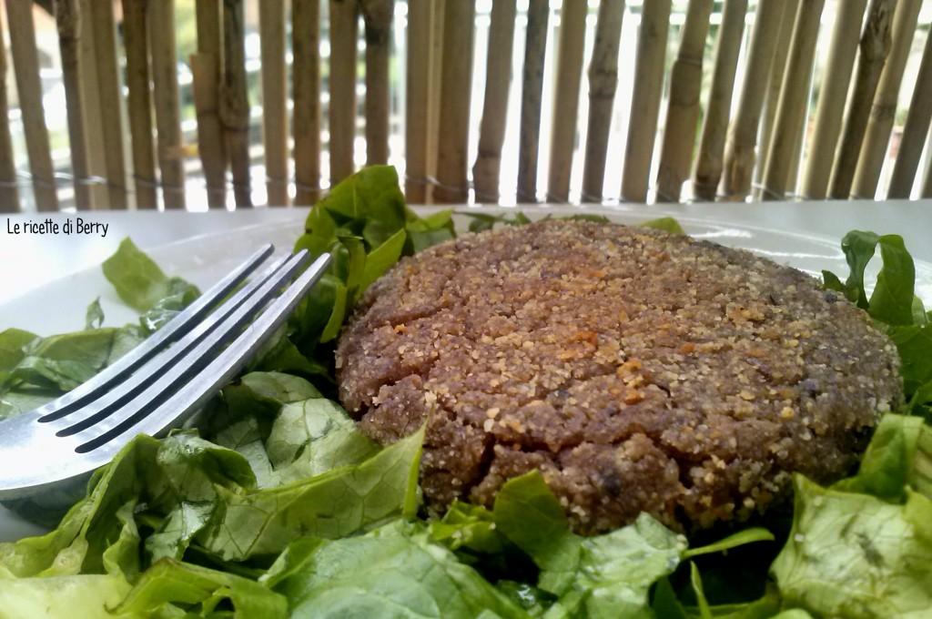 Veggie Burger di Fagioli