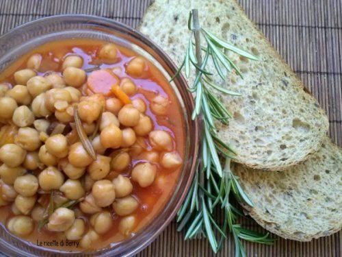 Zuppa di Ceci al Pomodoro