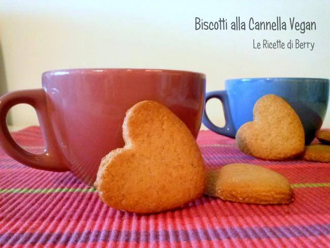 Biscotti alla Cannella Vegani