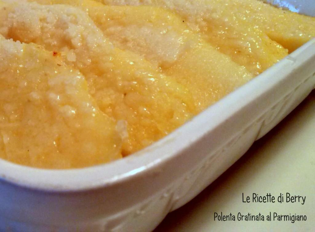 Polenta gratinata al parmigiano