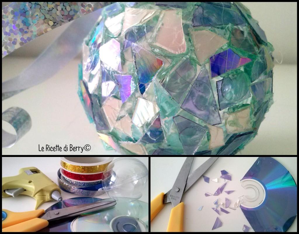 Tutorial palline di natale fai da te con cd riciclati for Palline di natale fai da te tutorial