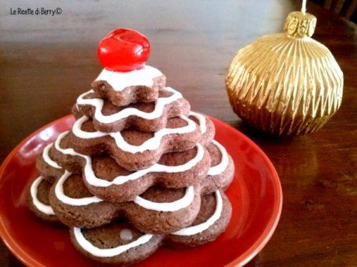 Albero di Biscotti per Natale