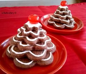 Albero di Biscotti al Cioccolato (3)