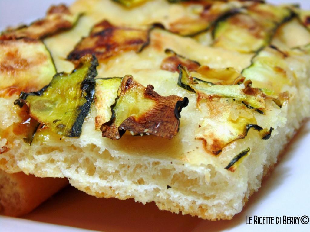 Focaccia alle Zucchine (2)
