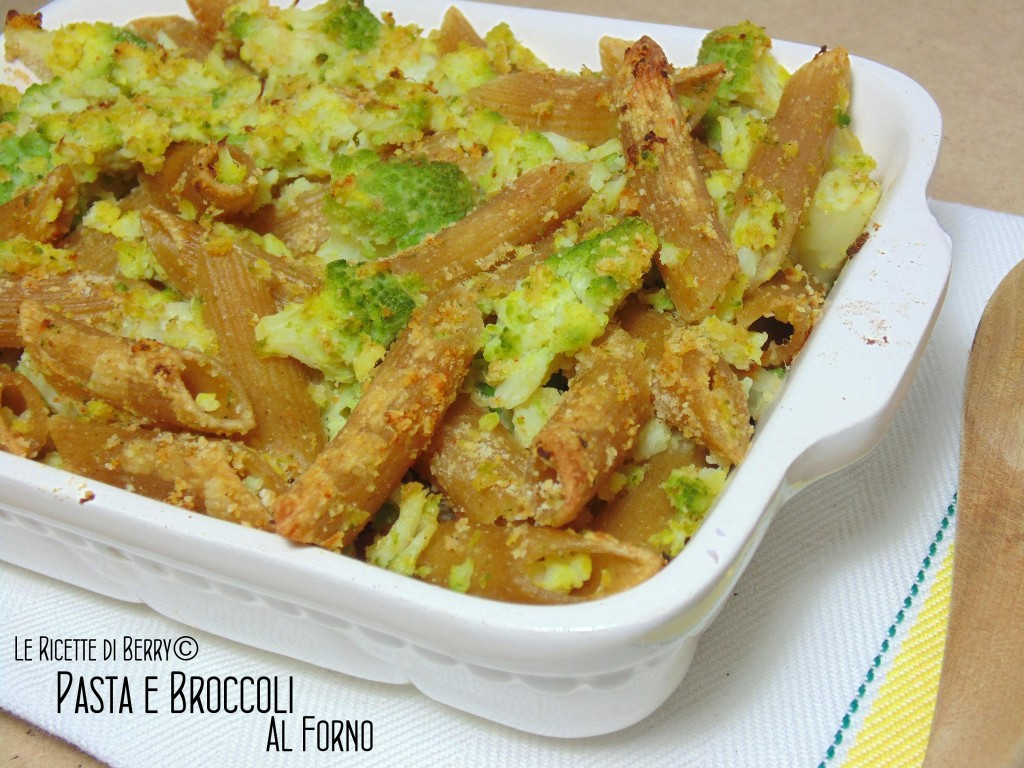 Pasta e Broccoli al Forno - Ricetta Facile e economica