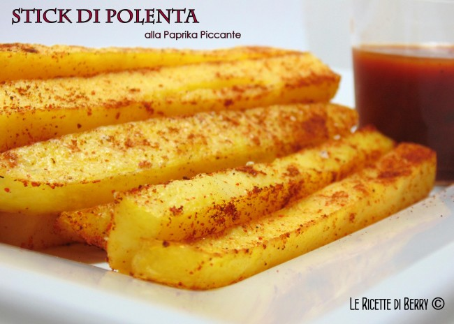 Stick di Polenta alla Paprika Piccante