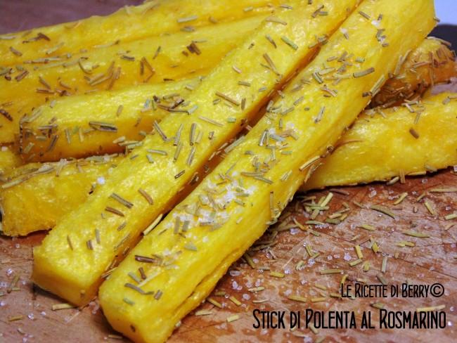 Stick di polenta al rosmarino