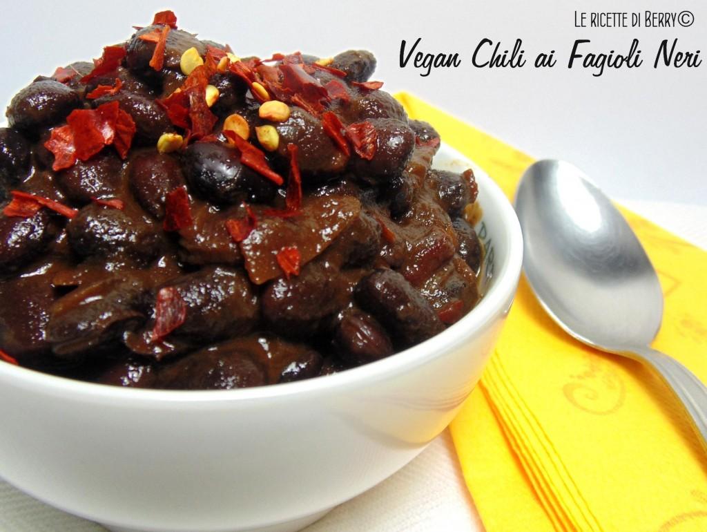 Chili Vegano con Fagioli Neri