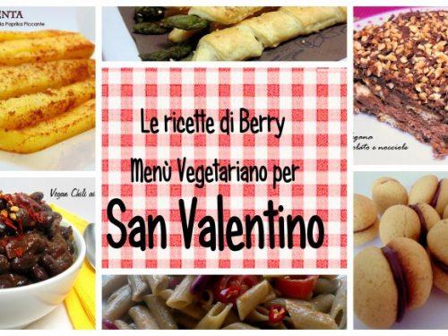Menù Vegetariano per San Valentino – Gratis da scaricare