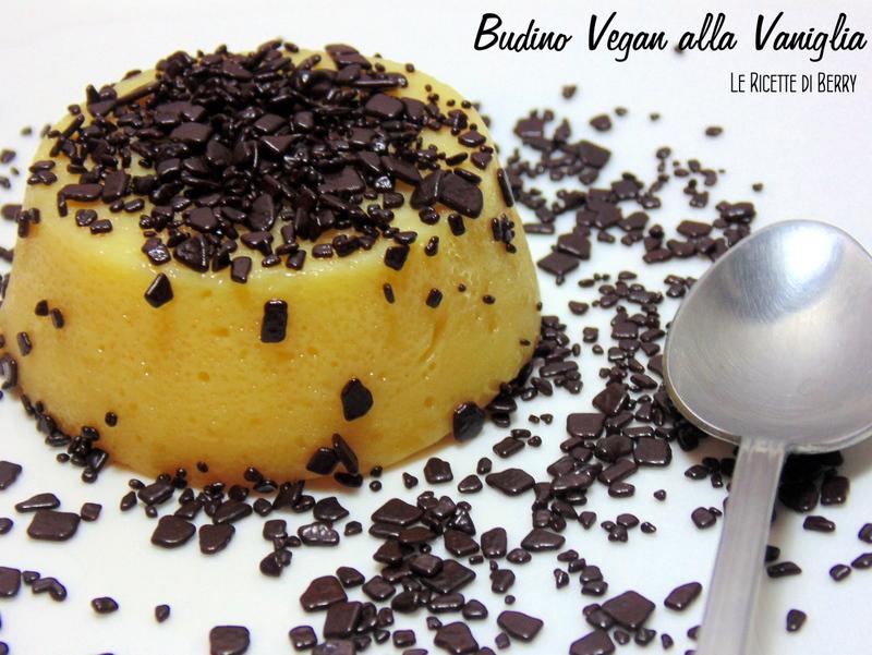 Budino di soia alla vaniglia