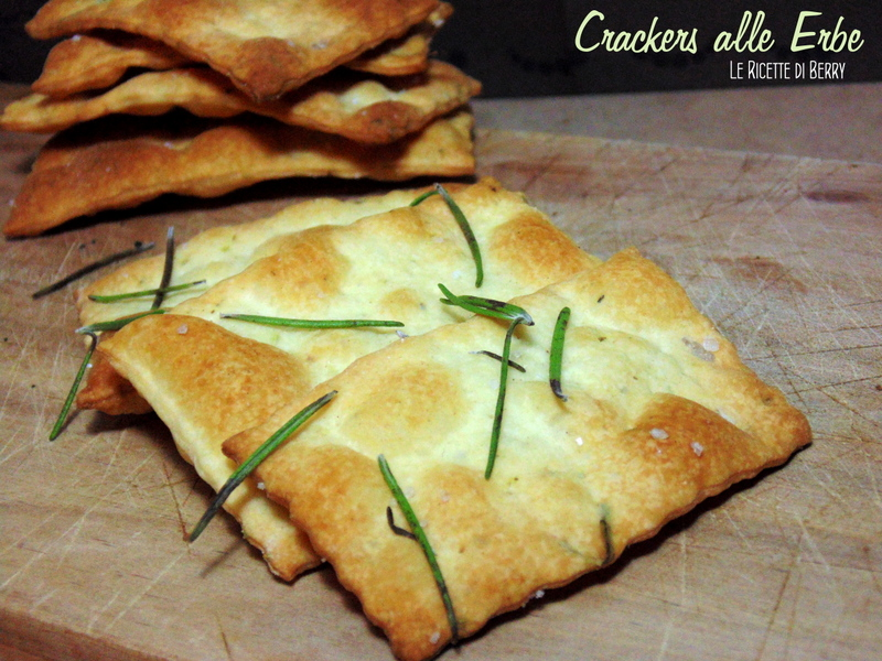 Crackers fatti in casa alle erbe le ricette di berry for Case di cracker di florida