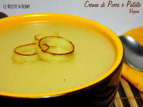 Crema di porri e patate – Vegan