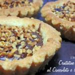 Crostatine al Cioccolato e Nocciole vegan