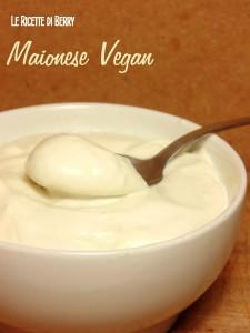 Maionese vegan senza uova