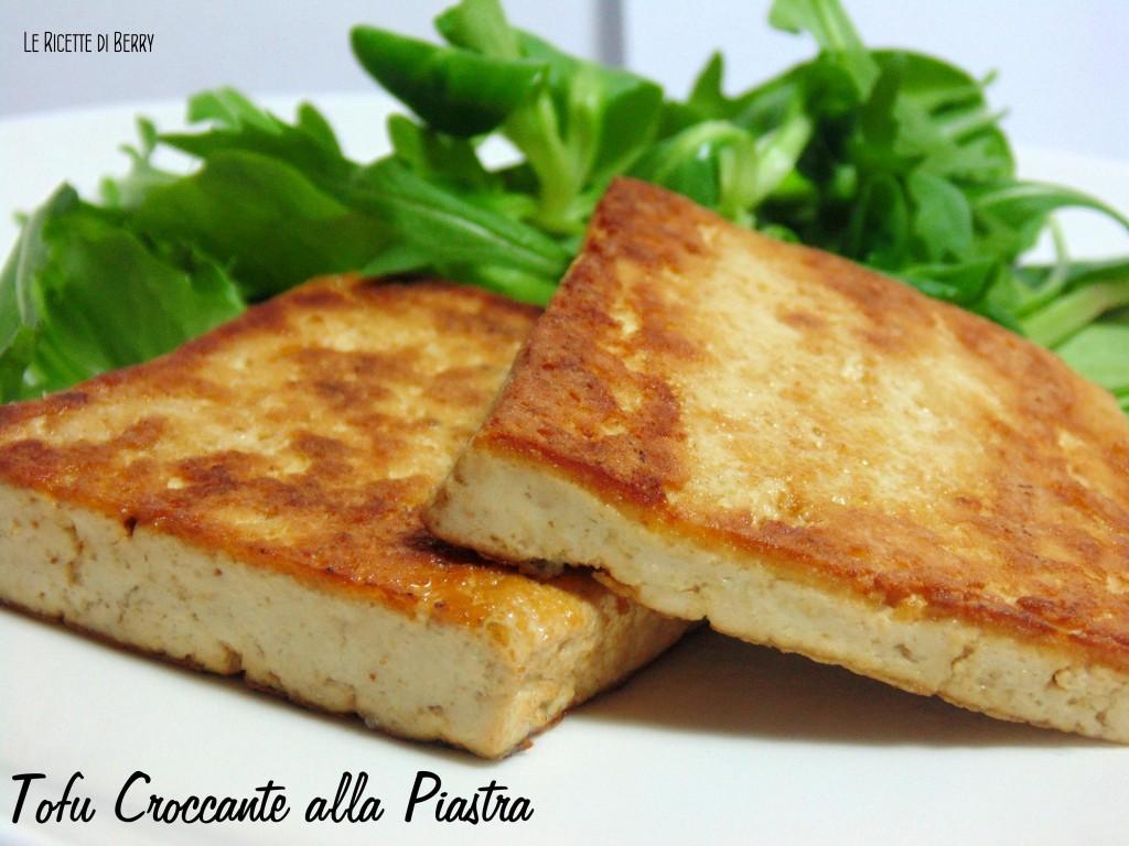 Tofu croccante alla piastra