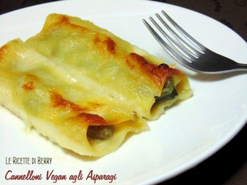 Cannelloni agli Asparagi Vegan