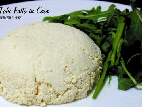 Tofu fatto in casa ossia Formaggio Vegetale di Soia