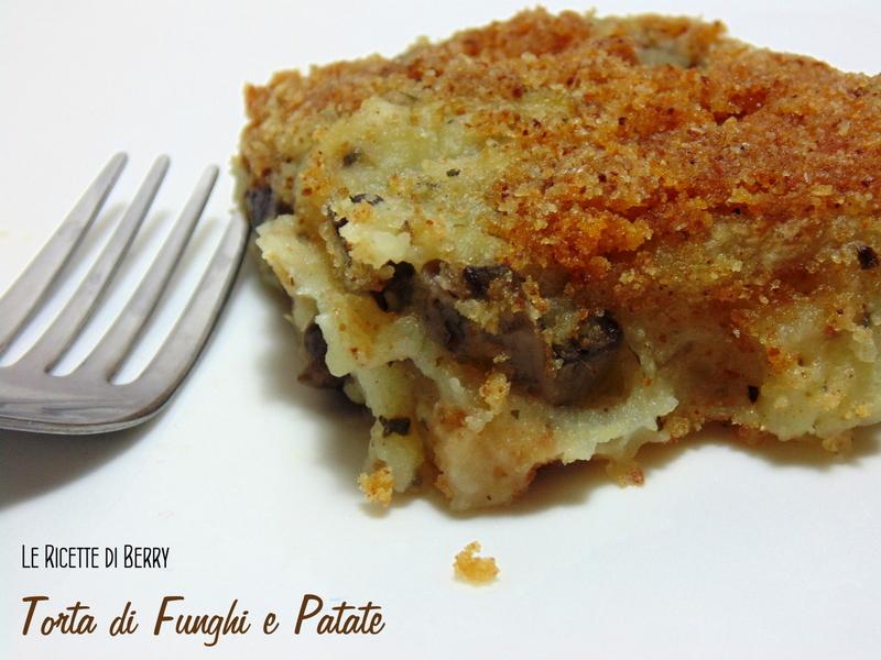 Torta di Fungi e Patate