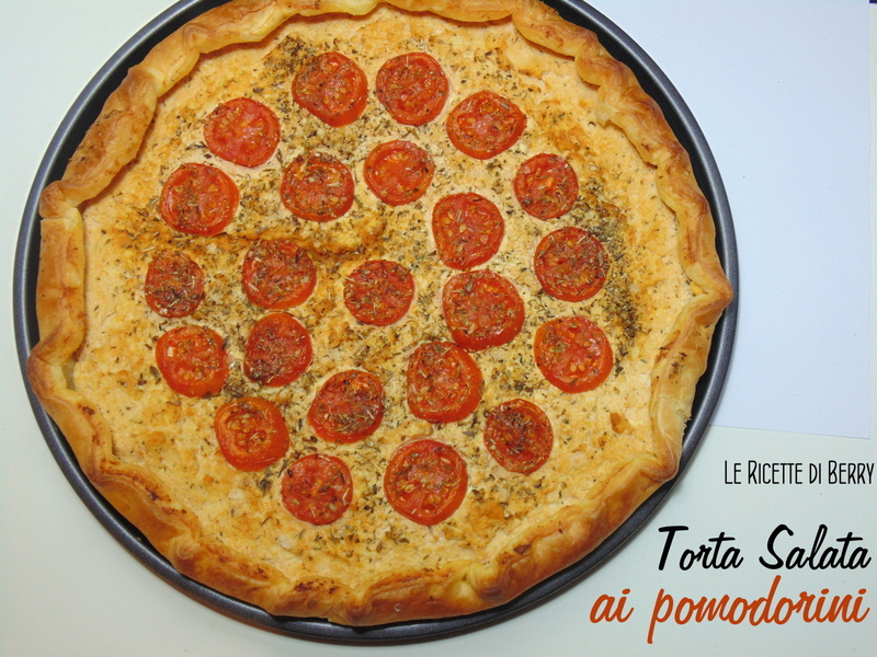 Torta Salata ai Pomodorini