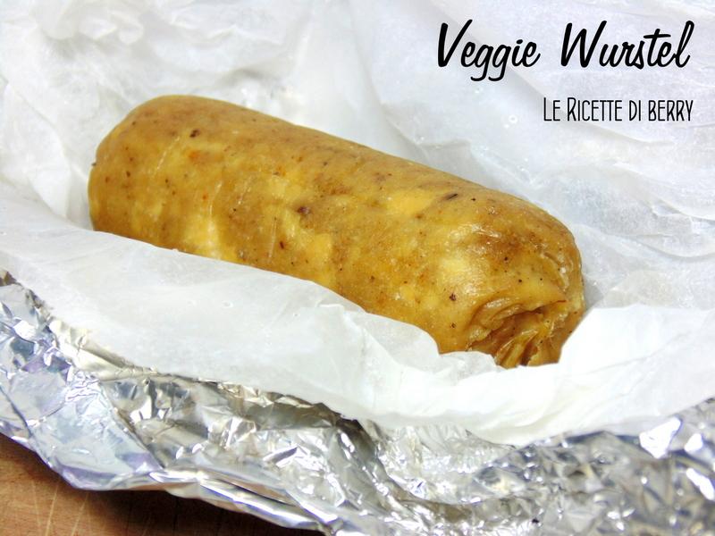 Veggie Wurstel di tofu