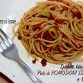 Pasta con Pesto di pomodori secchi e olive