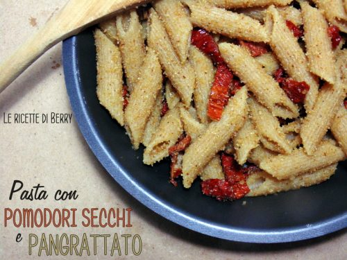 Pasta con Pomodori Secchi e Pangrattato