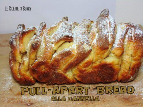 Pull-Apart Bread alla Cannella – Senza Burro e Uova