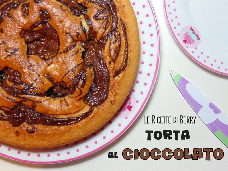 Torta con Crema al Cioccolato