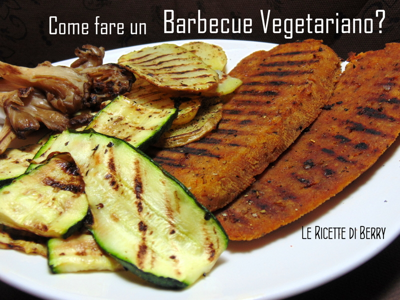 barbecue vegetariano