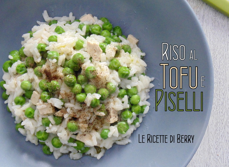 Riso al Tofu e Piselli