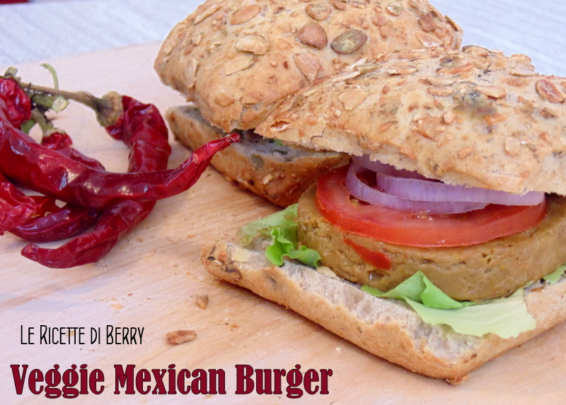 Veggie Mexican Burger