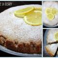 Torta al limone senza burro e uova