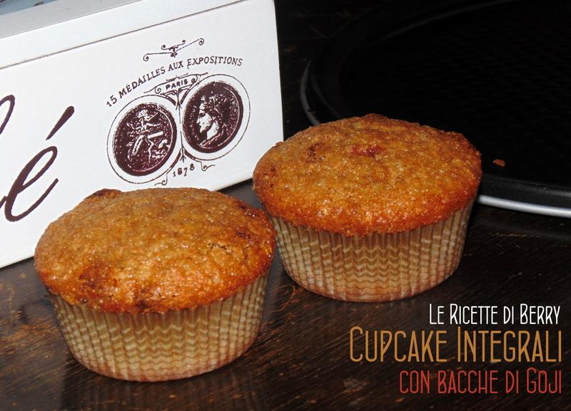 Cupcake Integrali con Bacche di Goji