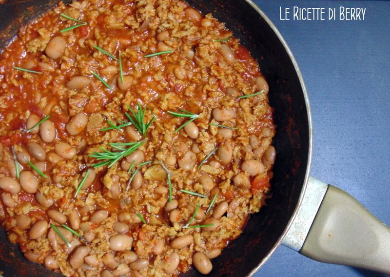 Vegan Chili con Fagioli
